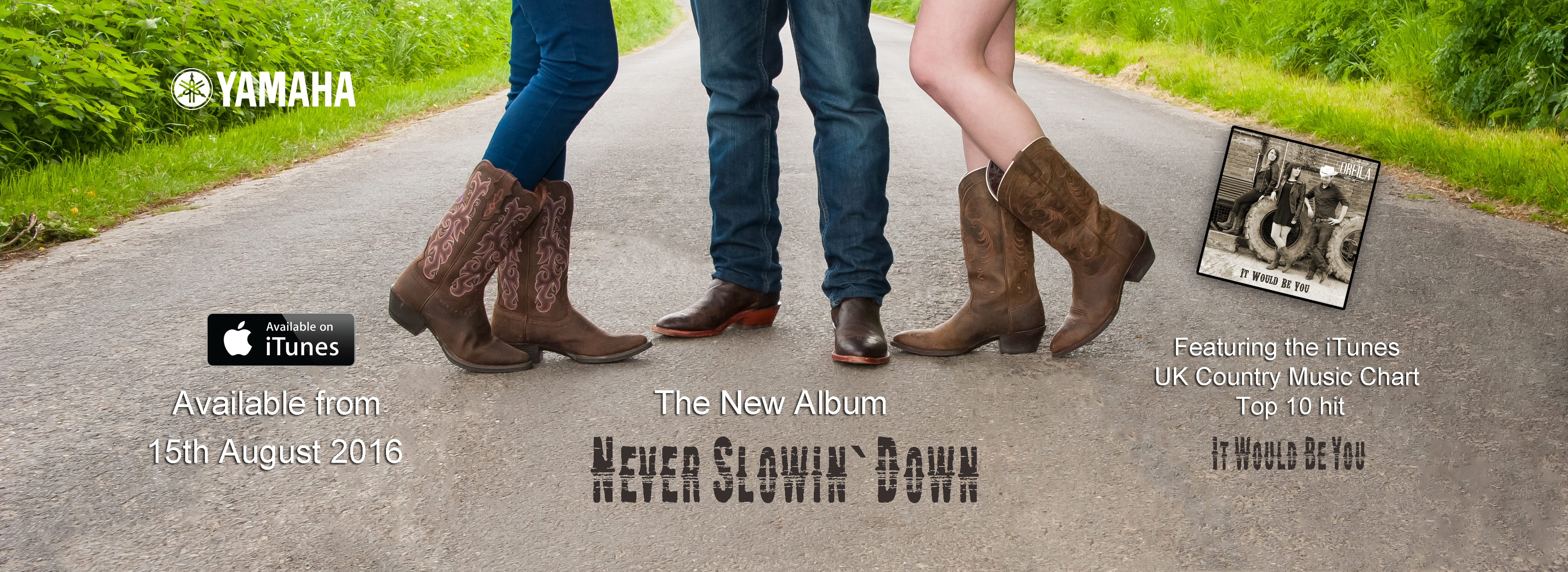 NEVER SLOWIN' DOWN…OUT NOW! | ORFILA